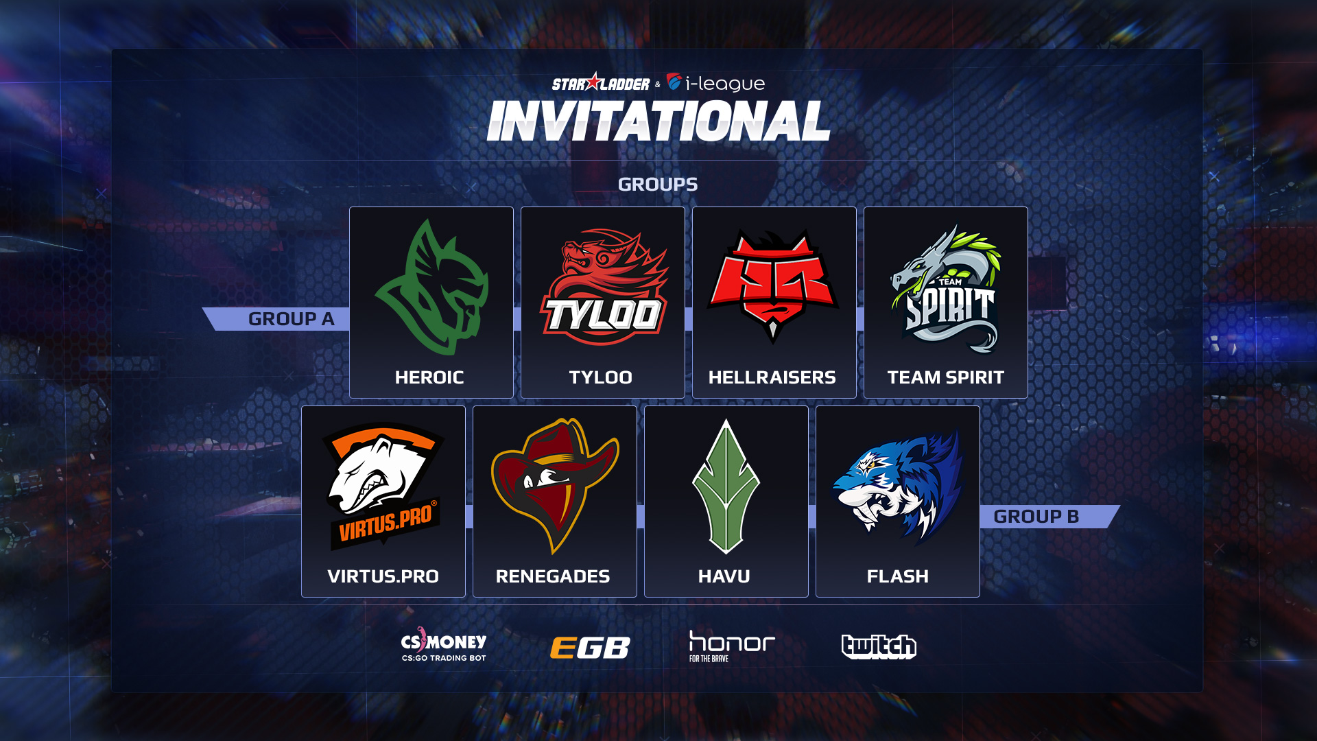 SL i-League Invitational Shanghai seeding