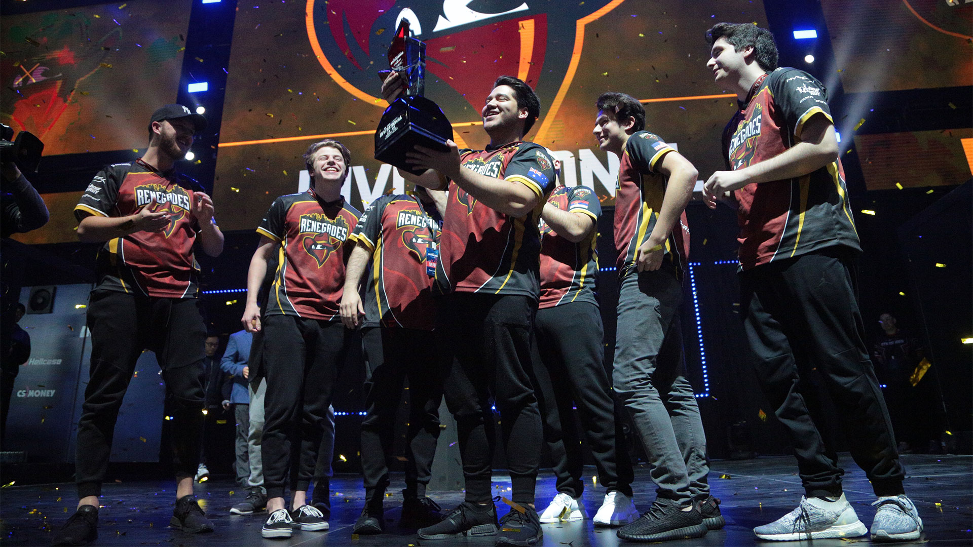 Renegades champions of SL i-League Shanghai Invitational