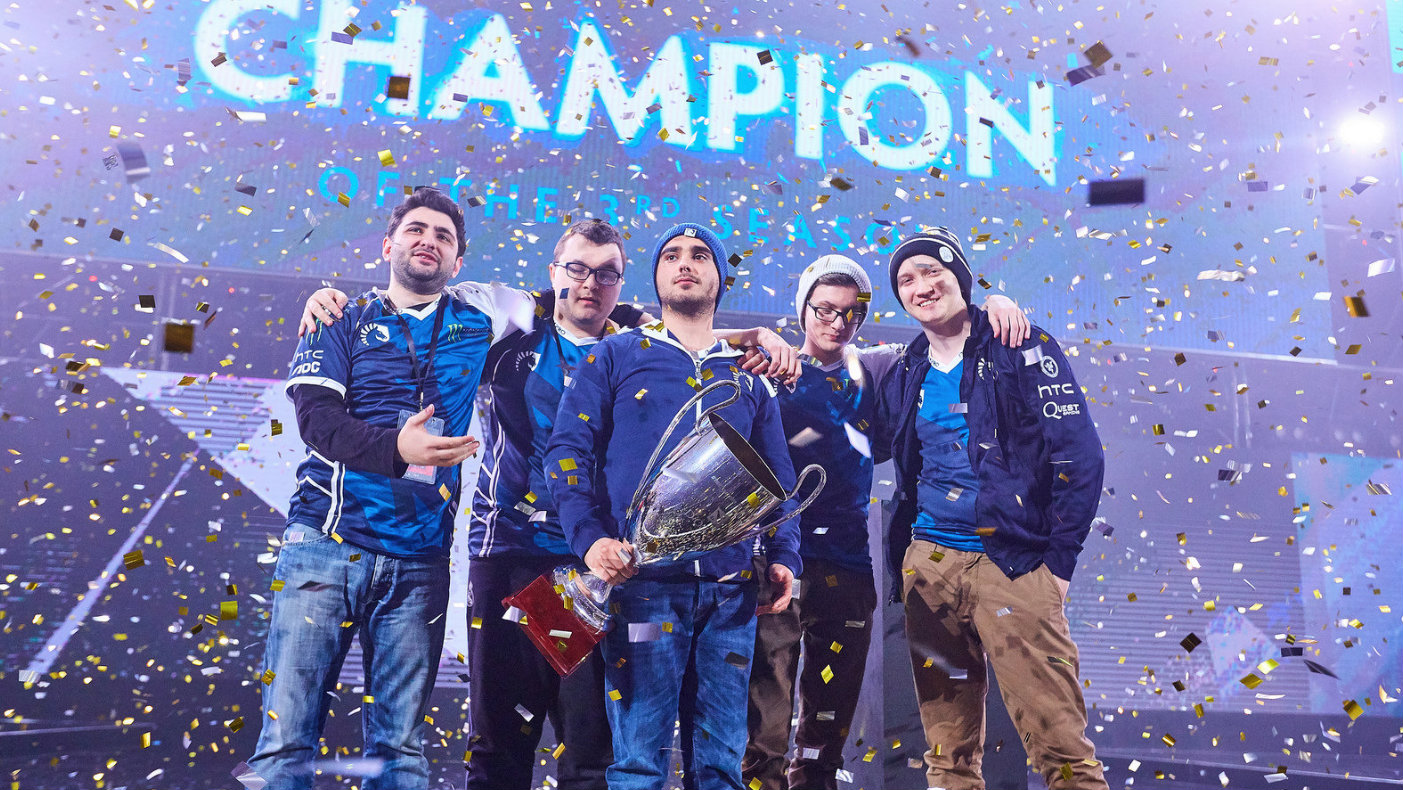 Team Liquid — the champions of SL i-League StarSeries S3
