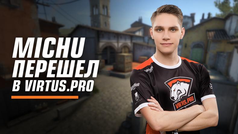 MICHU joins Virtus.pro