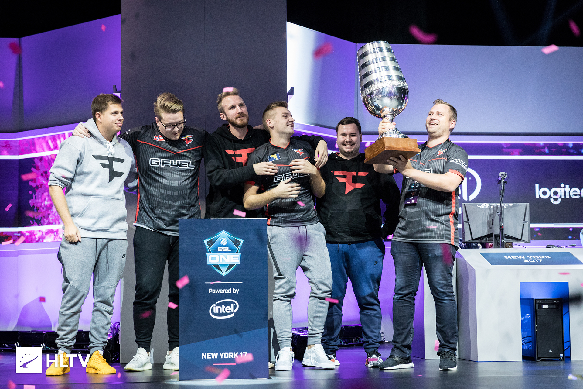 FaZe win ESL New York