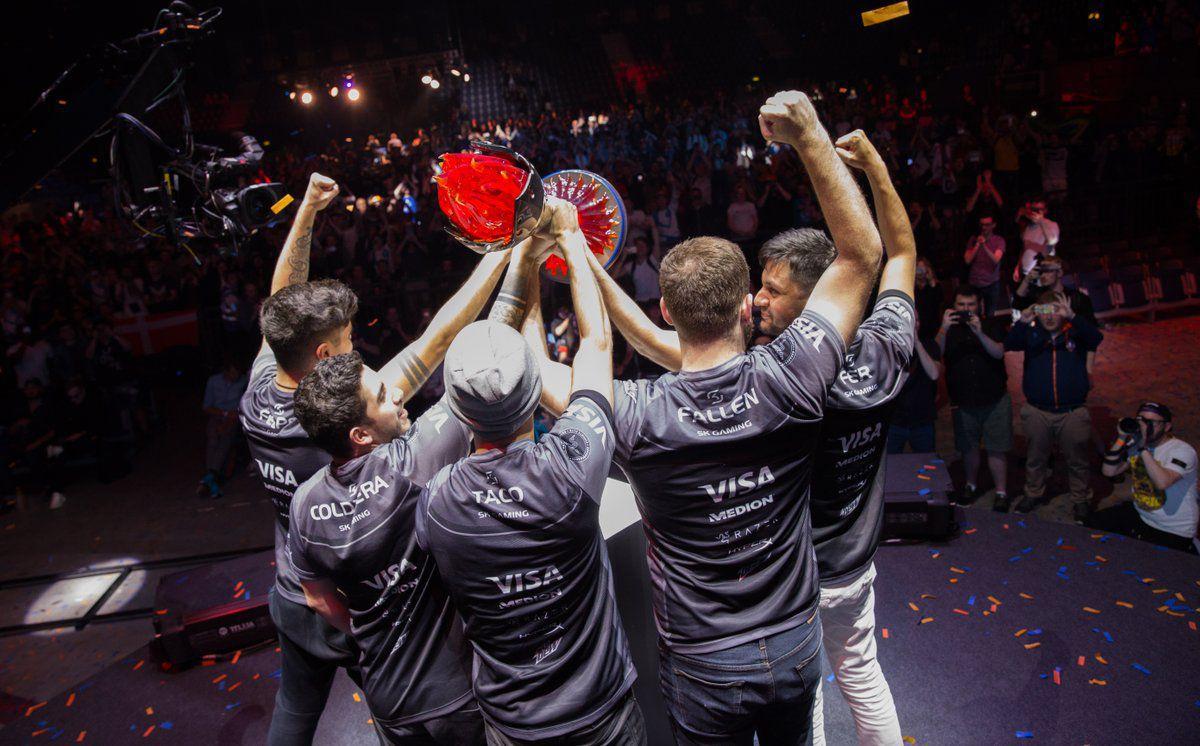 SK Gaming win ECS