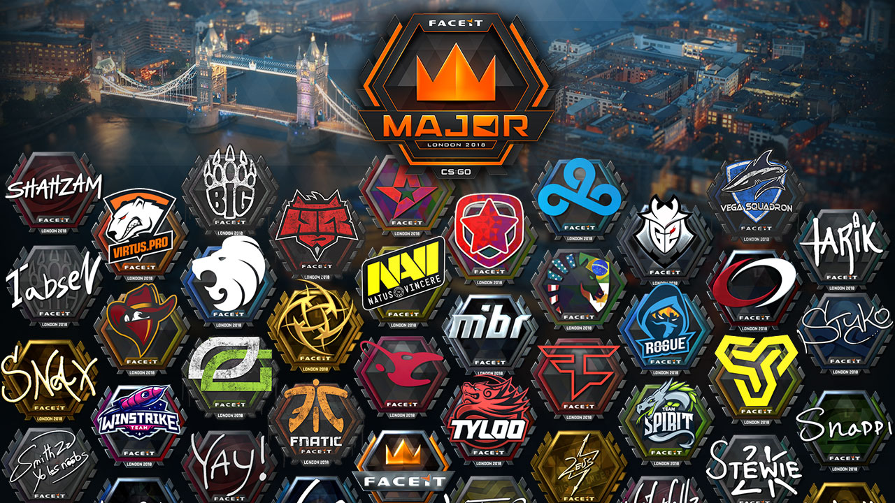 FACEIT Major stickers