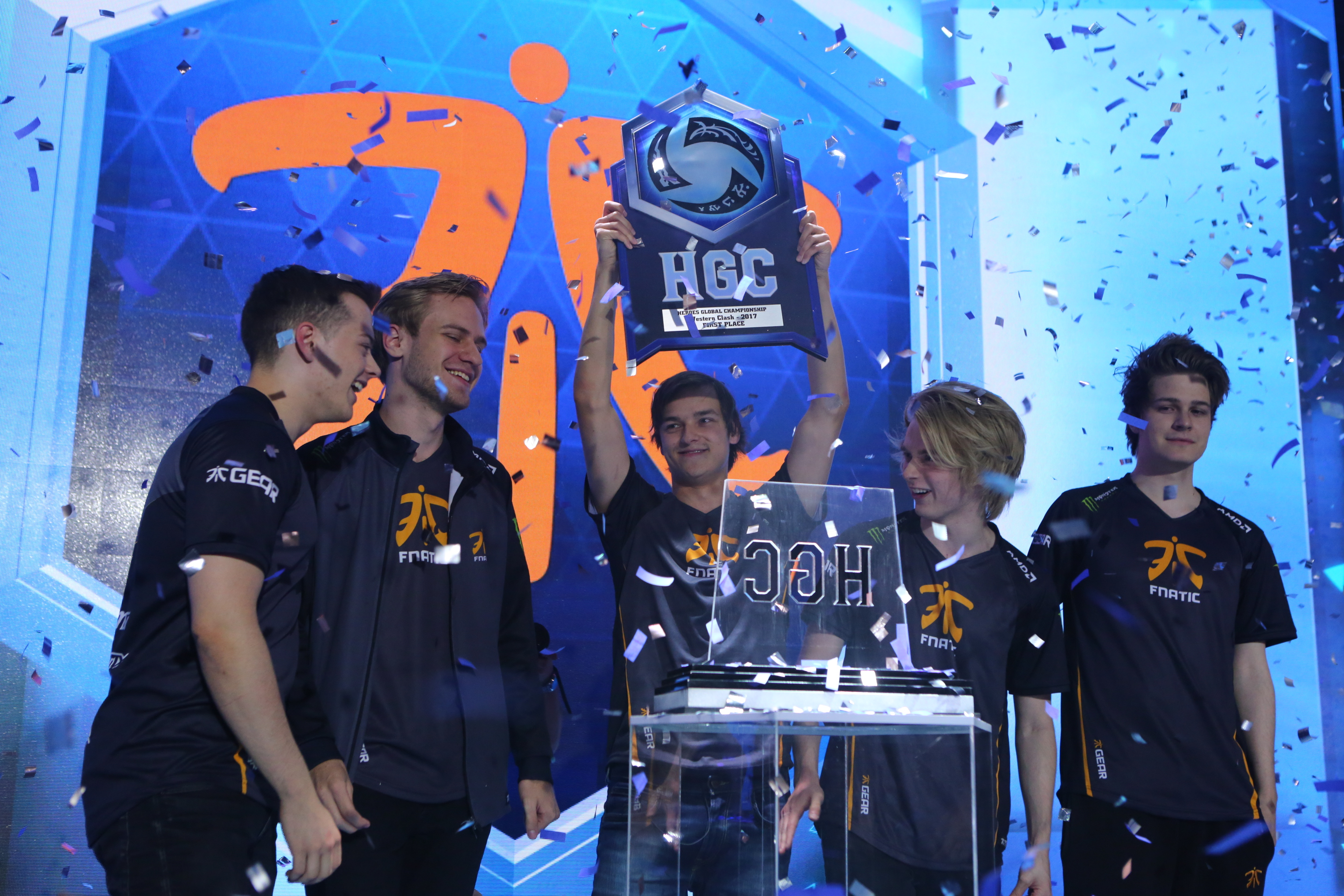 Fnatic champions of the Western Clash HGC