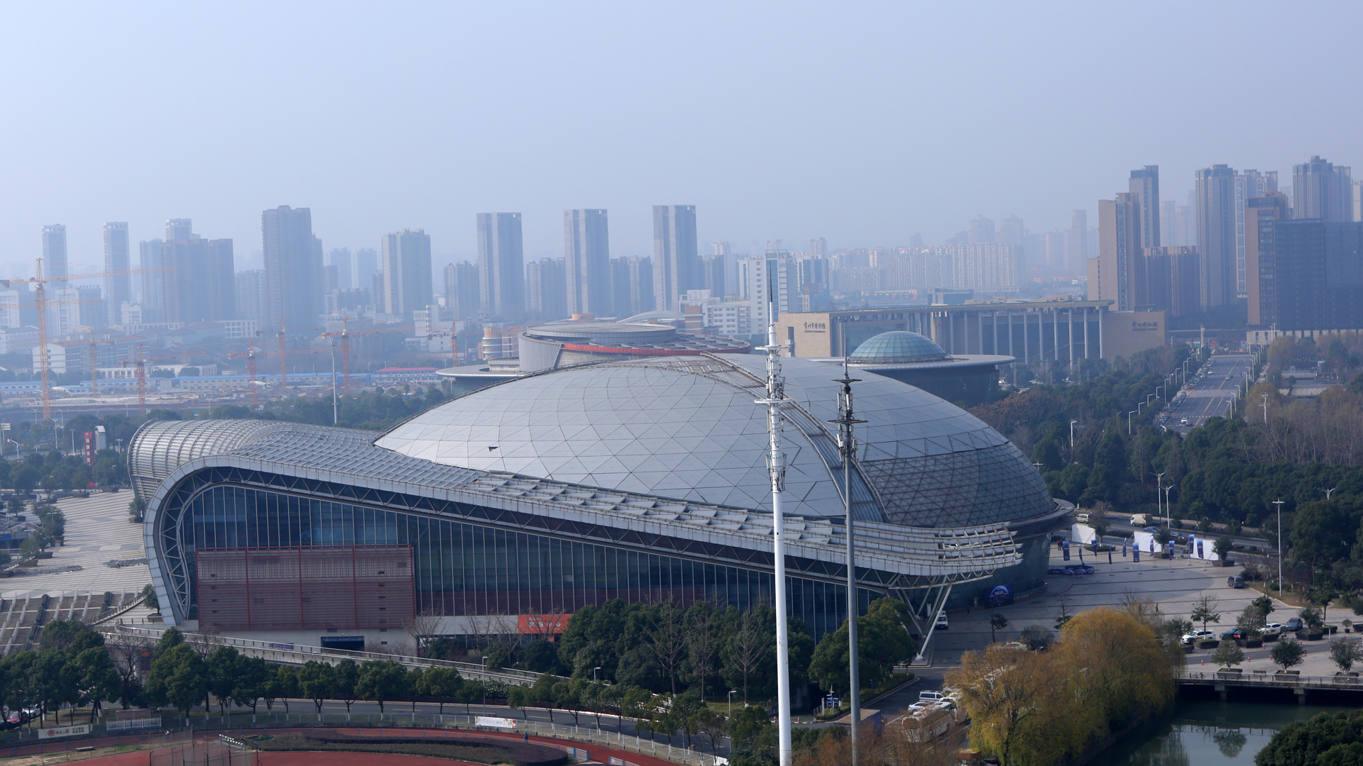 Changzhou Olympic Sports Center WESG 2016