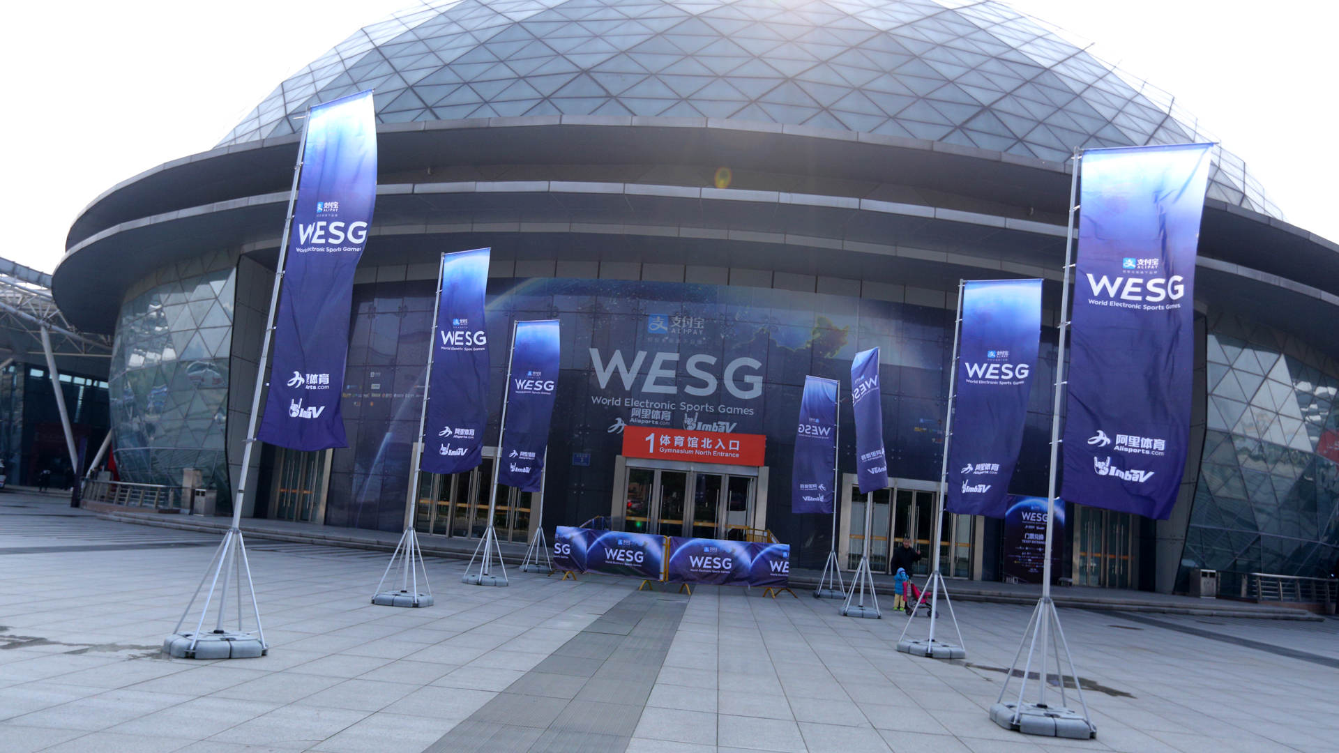 Changzhou Olympic Sports Center, WESG Grand Final presented by Alipay