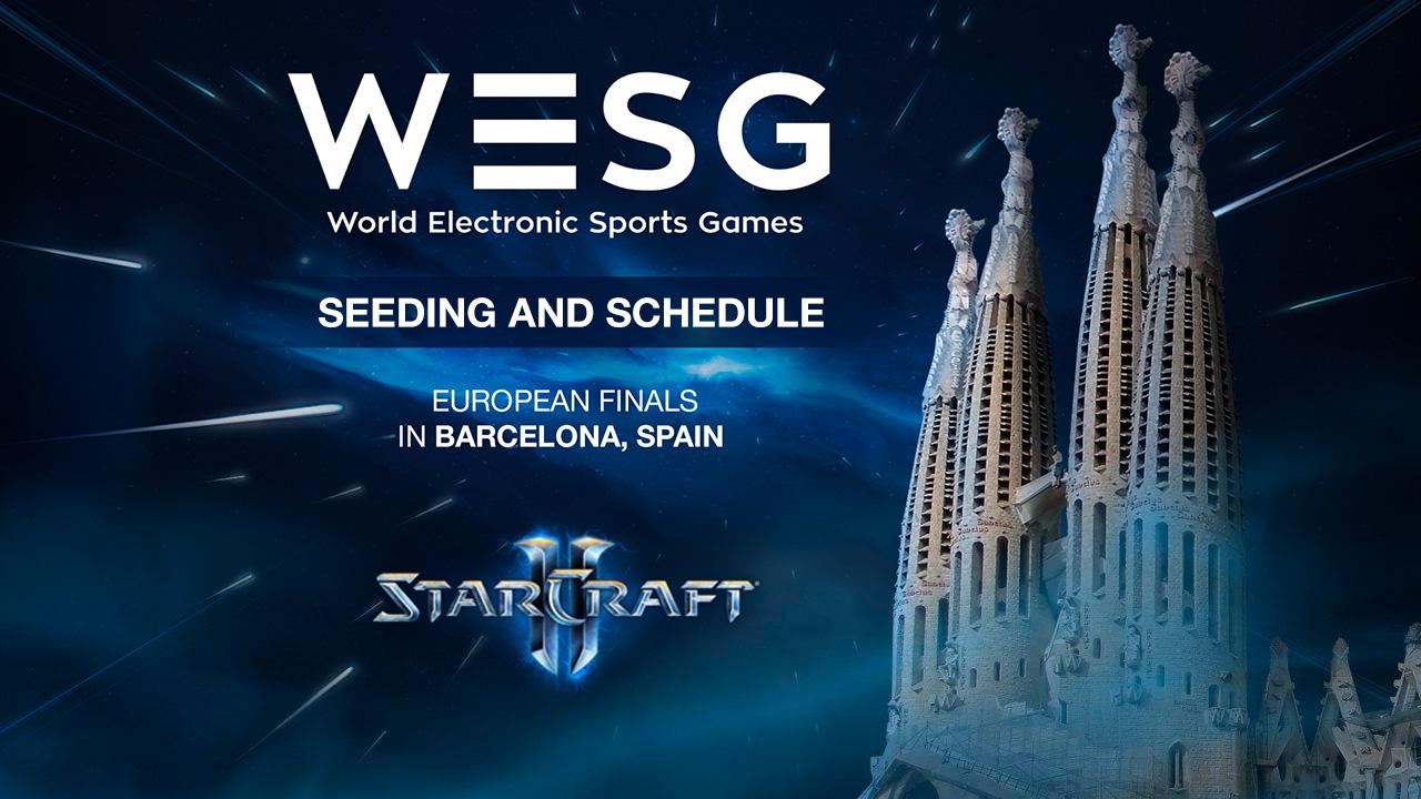 WESG EU Finals StarCraft II
