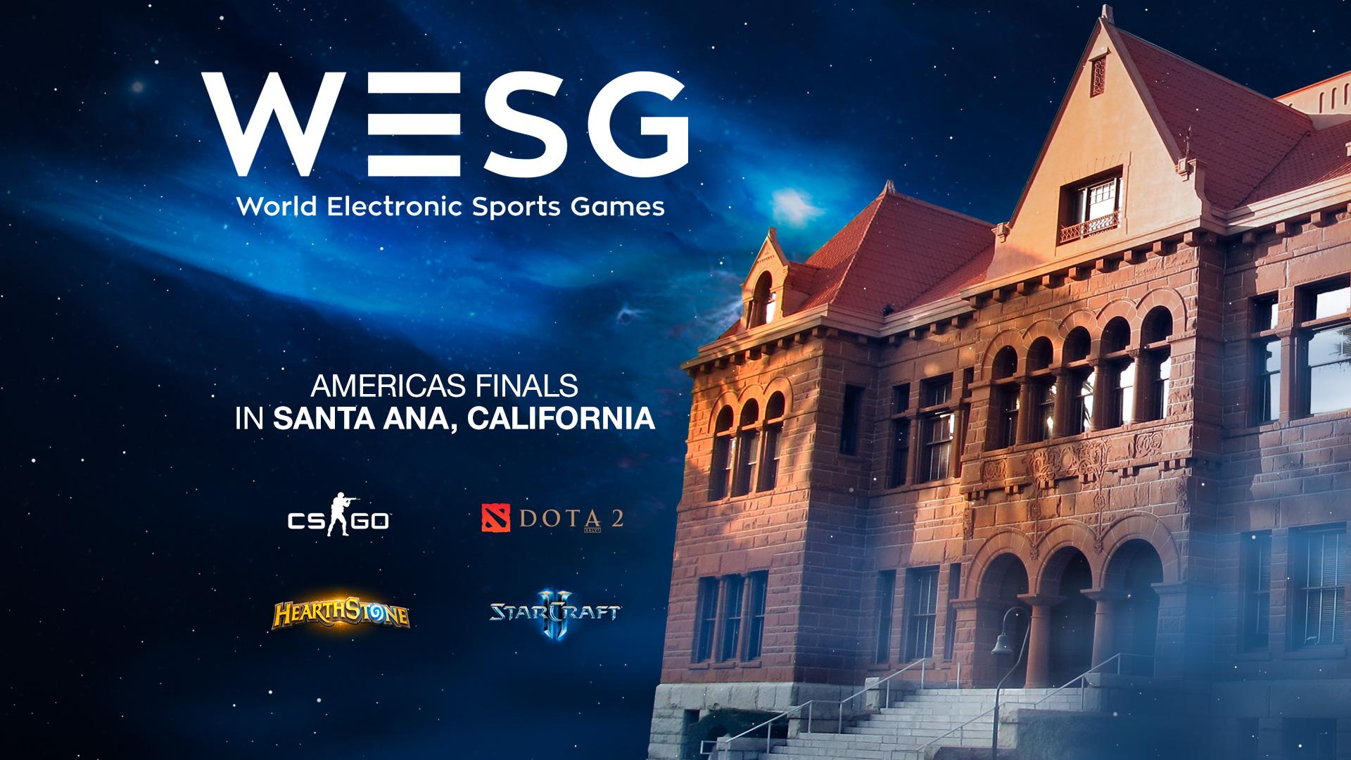 WESG Americas Final California