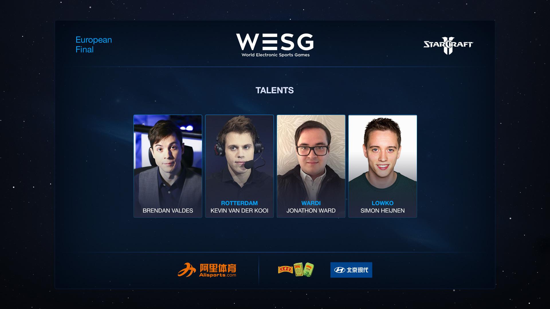 2017 WESG EU Staff
