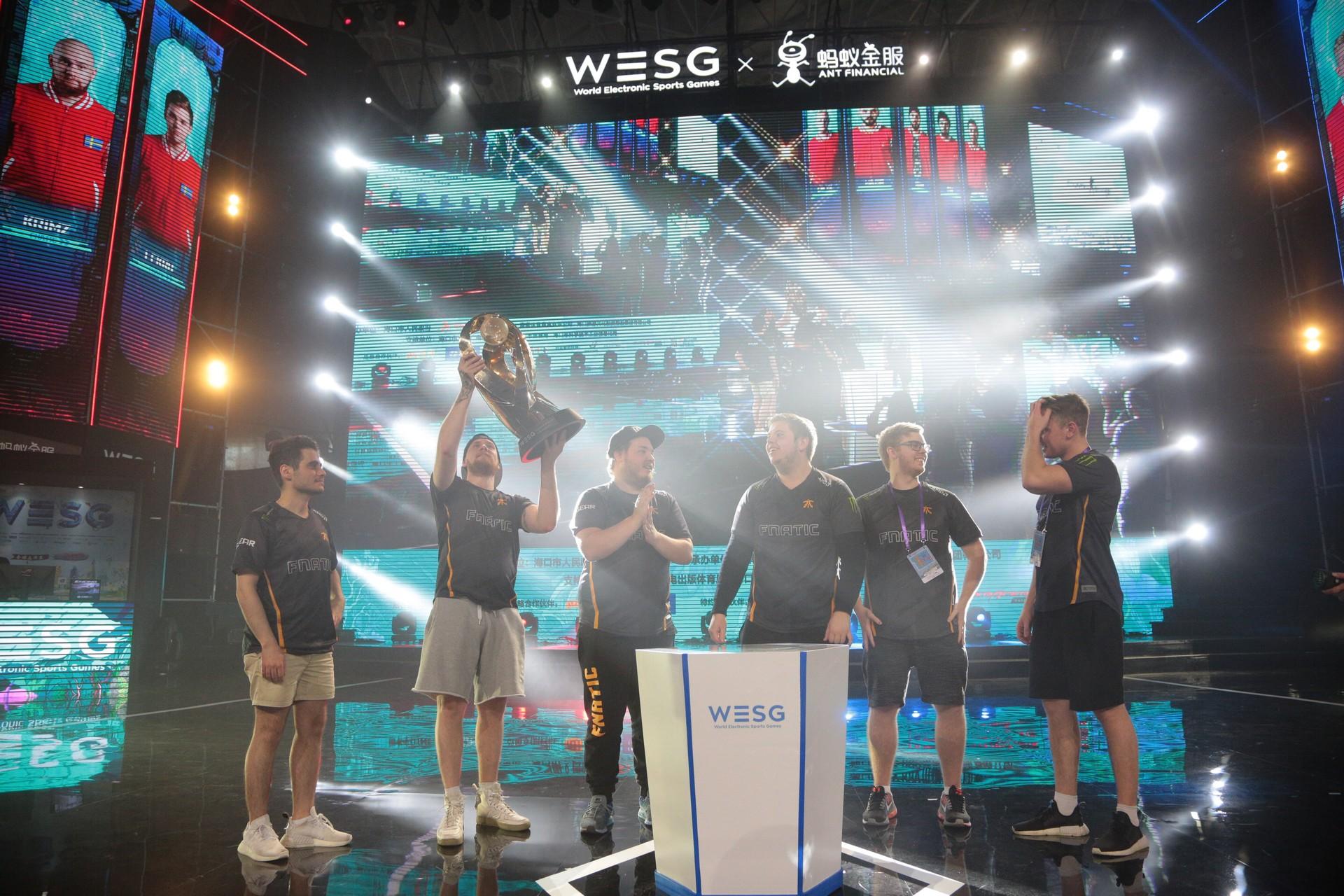 Fnatic win WESG