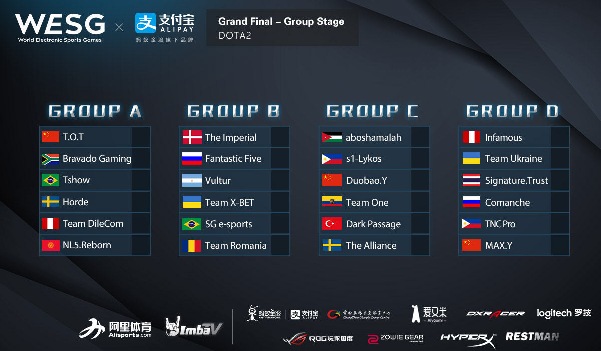preview of the gs at wesg 2016 presented by alipay in dota 2