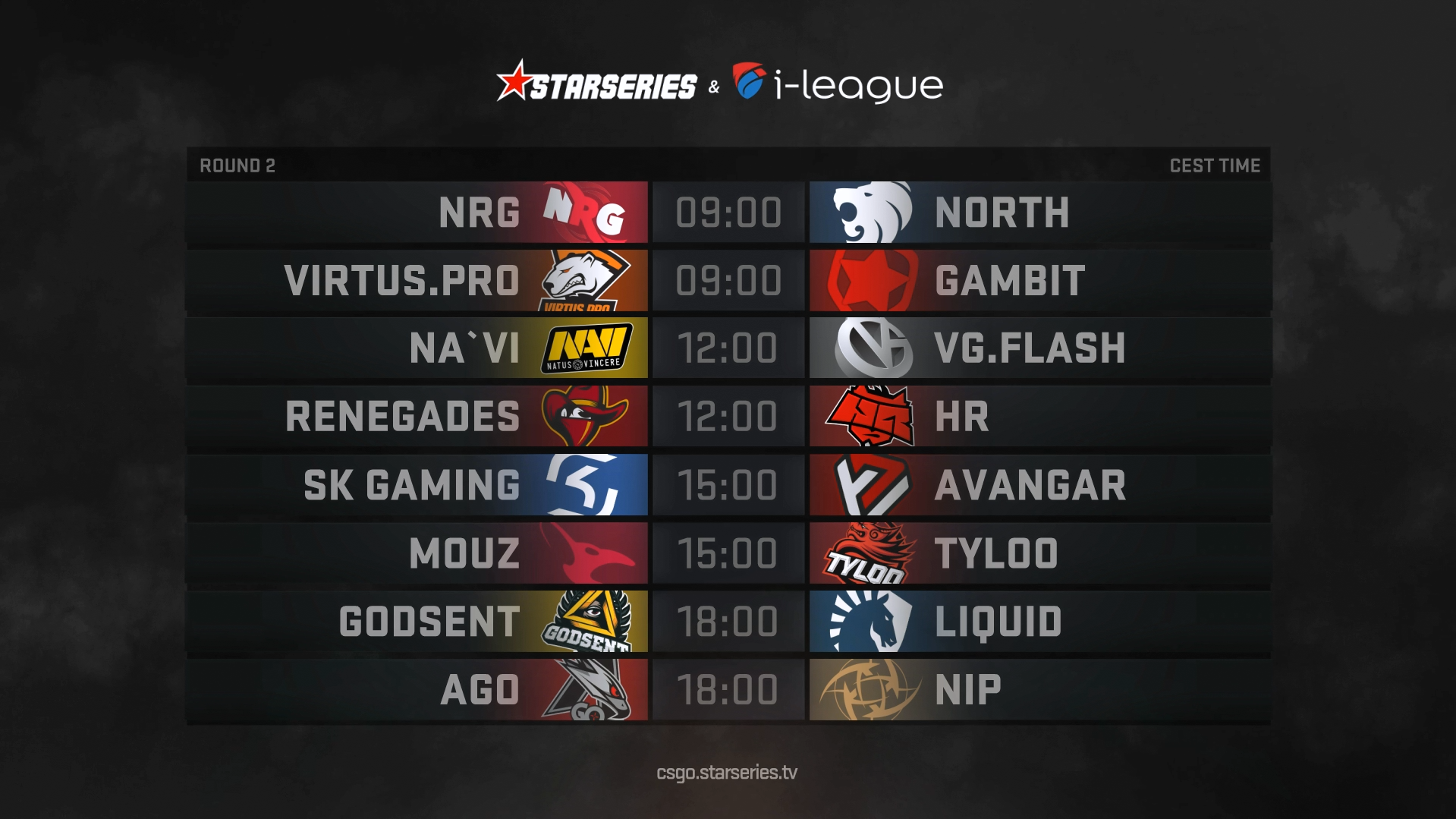 Results of the first day at StarSeries i-League CS:GO S5