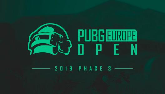 PEL Open League Phase 3 - Europe: WEST