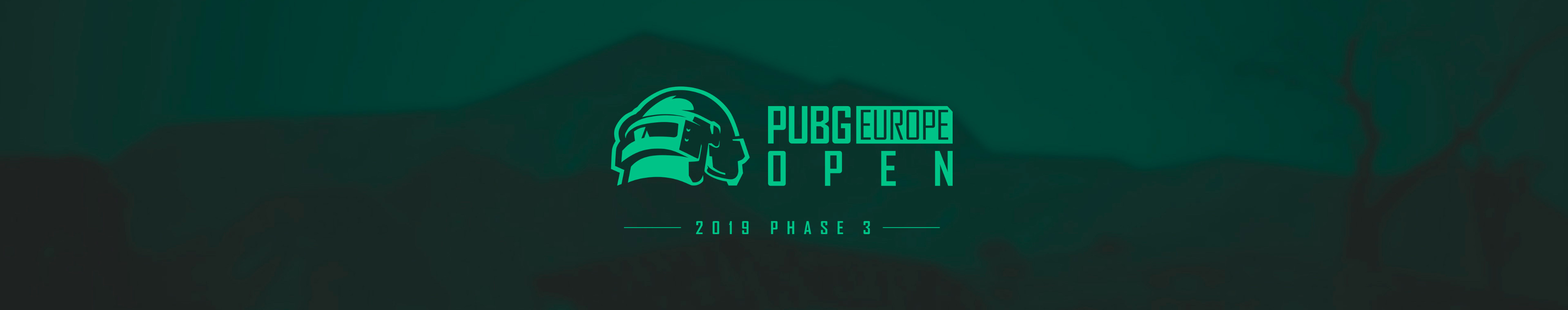 PEL Open League Phase 3 - Europe: East