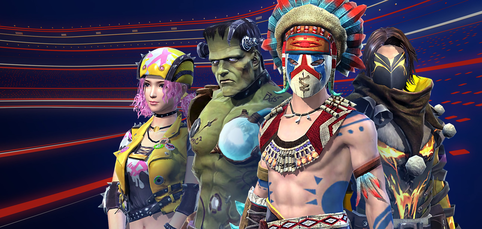 Gamestars Free Fire: Team Battle