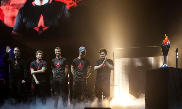 Astralis secured the champions' title of ECS S2