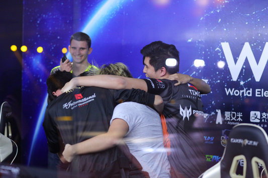 TNC — the champion of WESG Grand Final presented by Alipay