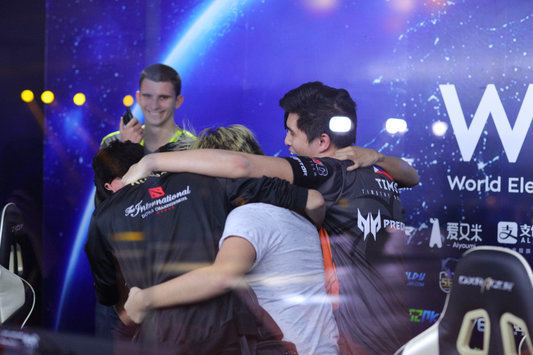 TNC — чемпион WESG Grand Final presented by Alipay по Dota 2