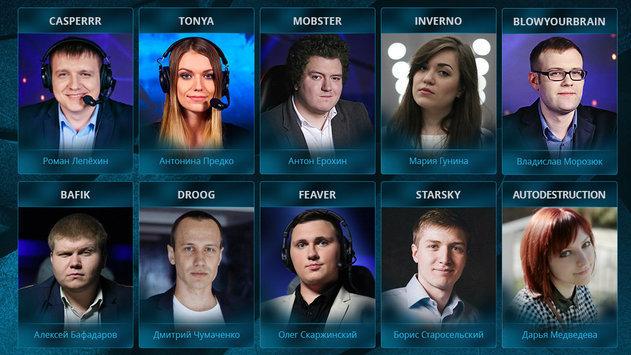 Русскоязычная студия SLTV на квалификации к Kiev Major