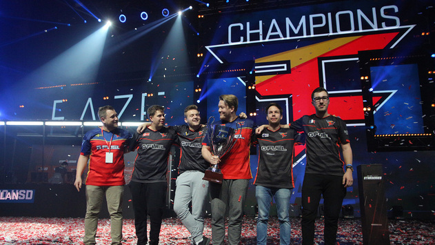 FaZe - champions of CS:GO StarSeries