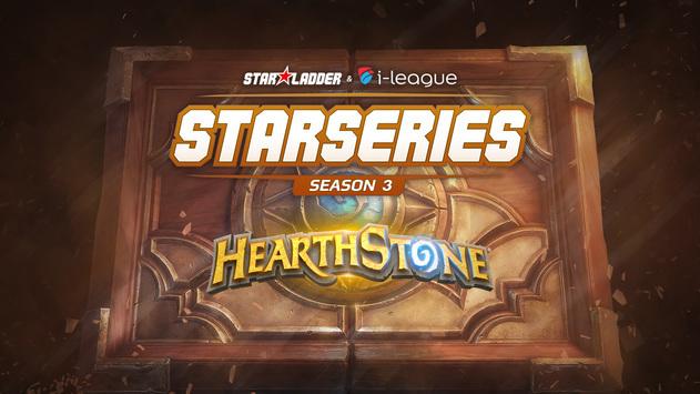 Встречайте третий сезон StarSeries по Hearthstone