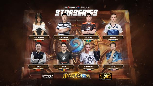 Посев игроков на финал HS StarSeries