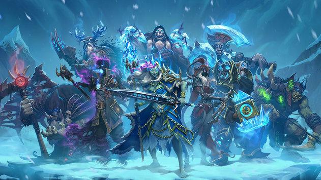 "Новое дополнение Hearthstone - ""Рыцари ледяного трона"""