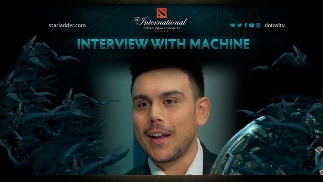 Machine: Я начал чувствовать себя истинным фаном «доты»