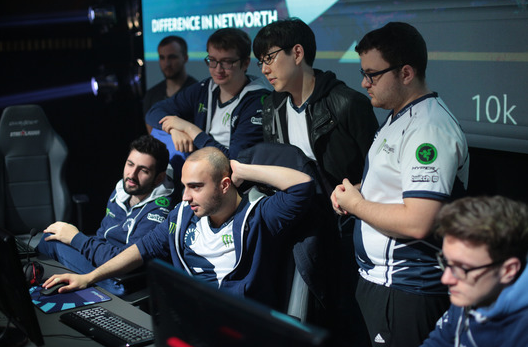 Liquid win over Team Secret on their way to the Grand-Final