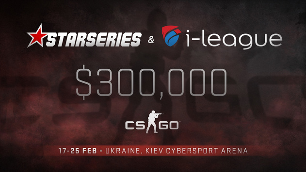 The fourth season of StarSeries i-League CS:GO will take place in Kiev
