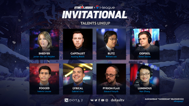 SL i-League Invitational S4: talent list