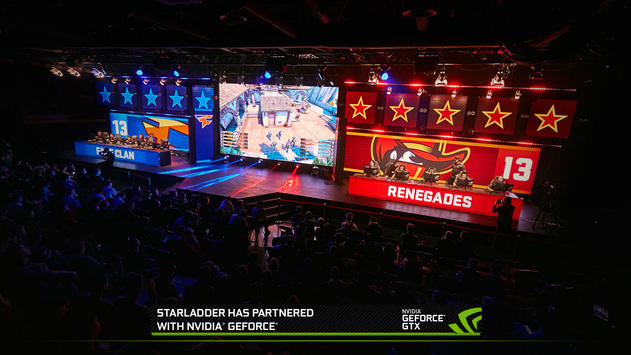 StarLadder Tabs GeForce GPUs to Power All StarSeries Tournaments in 2018