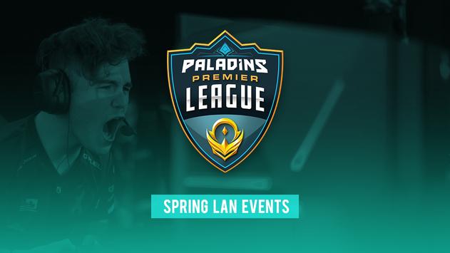 Paladins Spring Split LANs