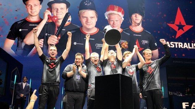 Astralis стали чемпионами ECS Season 5