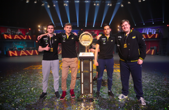 Na'Vi — the champions of PGI CIS Qualifiers presented by StarLadder