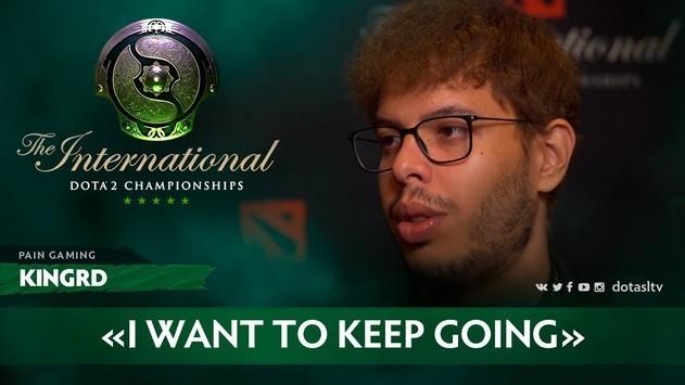 Kingrd: «Я хочу продолжать играть»