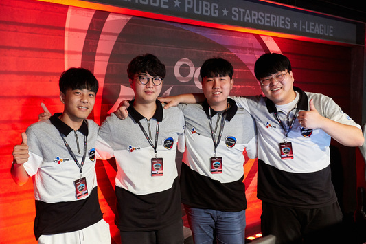 OGN Entus Ace are in the top at StarSeries i-League PUBG S2