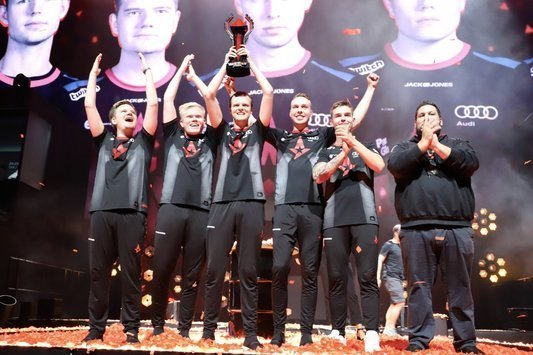 Astralis are the champions of FACEIT Major 2018