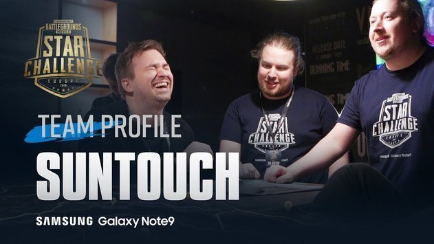 Suntouch: «I used to be a SMITE player, but then I transitioned to PUBG»