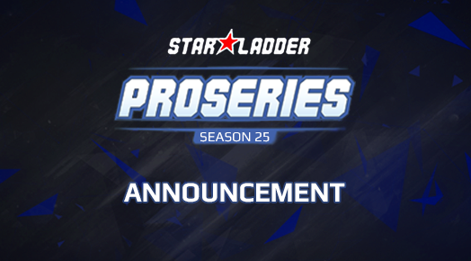 Announcement of $2.000 Pro League of the 25th Season