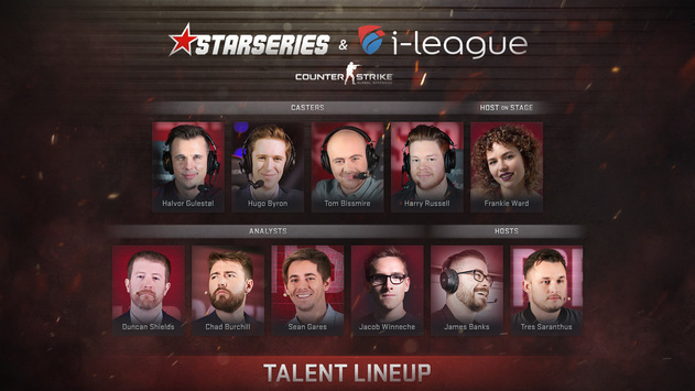StarSeries i-League CS:GO Season 6: talent lineup