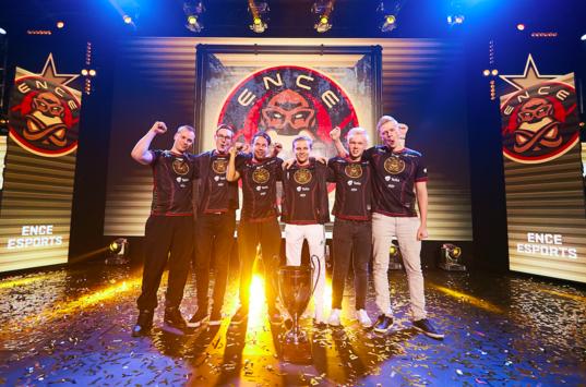 ENCE - champions of the StarSeries i-League CS:GO Season 6
