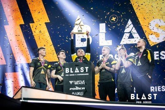 Na'Vi are the champions of BLAST Pro Series: Copenhagen