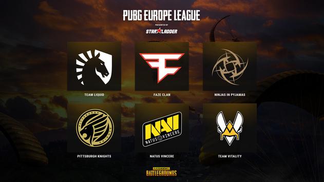 PUBG Europe League: 6 strongest European teams invited