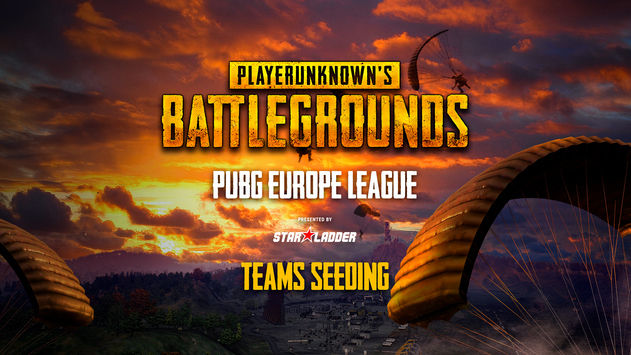 Teams seeding for the PUBG Europe League LAN Qualifier group stage