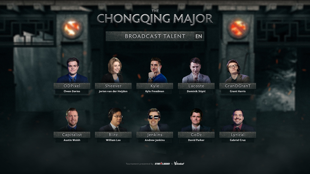 The Chongqing Major: Main qualifier talent lineup
