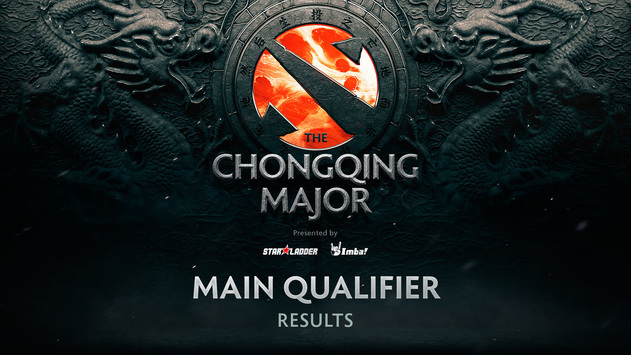 The Chongqing Major main qualifier results