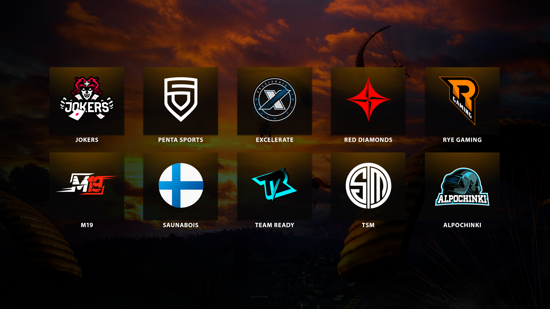10 Teams Advance to PUBG Europe League and 6 Teams to the Contenders League