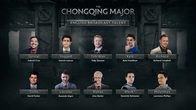 The Chongqing Major: Russian- and English-language talent lineup