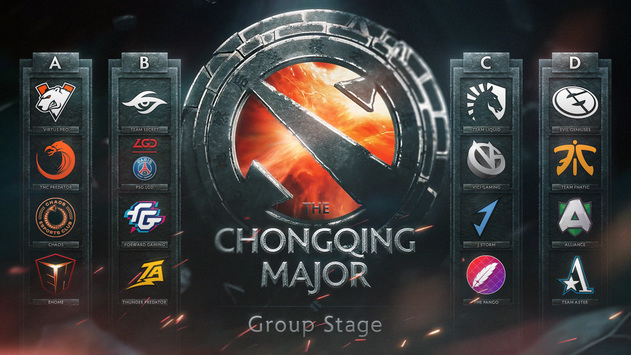The Chongqing Major: Team seeding for the group stage
